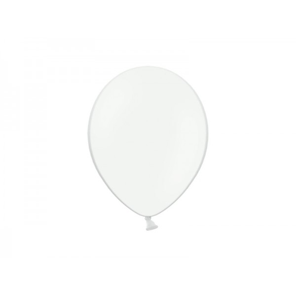Balony pastelowe białe 12cali 30cm 50szt Strong