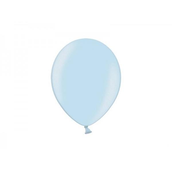 Balony pastelowe błękitne 11cali 27cm 50szt Strong