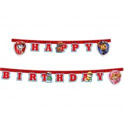 Baner Psi Patrol Happy Birthday 220cm
