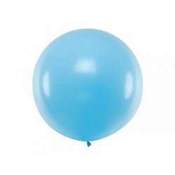 Balon Gigant pastelowy błękitny 1metr
