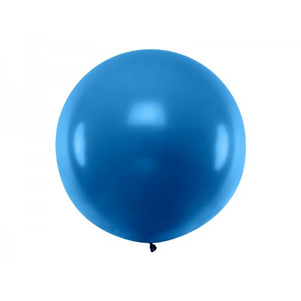 Balon Gigant pastelowy granatowy 1metr