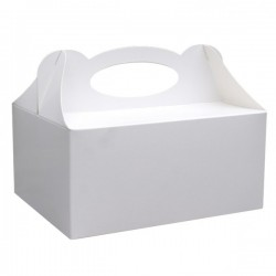 Pudełka na ciasto białe 50szt