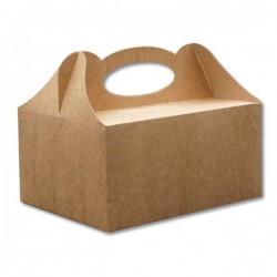 Pudełka na ciasto kraft 50szt