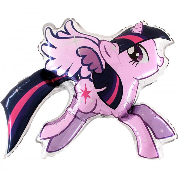 Balon foliowy My little Pony Twilight  Sparkle 90cm