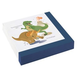 Serwetki papierowe Dinozaury 33x33cm 20szt
