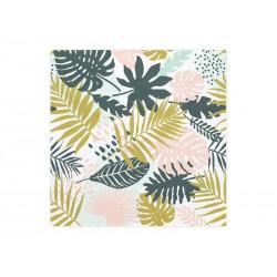 Serwetki papierowe Aloha liście 33x33cm 20szt
