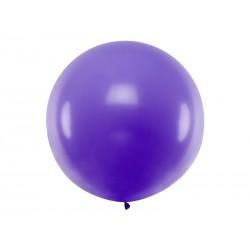 Balon Gigant pastelowy lawendowy 1metr