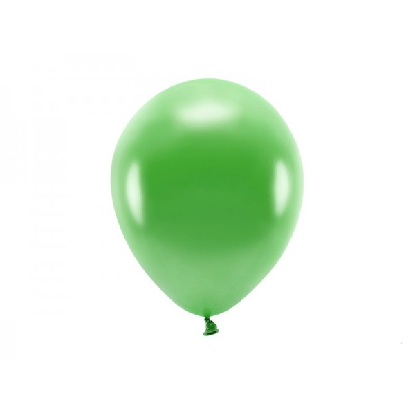 Balony metaliczne zielone 11cali 26cm 10szt
