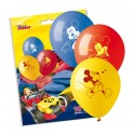 Balony pastelowe Myszka Mickey 10cali 25cm 10szt