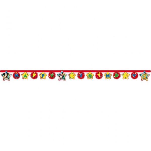 Baner Happy Birthday Myszka Minnie i Mickey 230cm