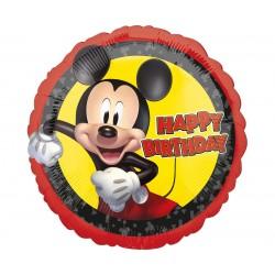 Balon foliowy Happy Birthday Myszka Mickey 18cali 46cm