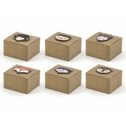 Pudełka papierowe Woodland 6szt