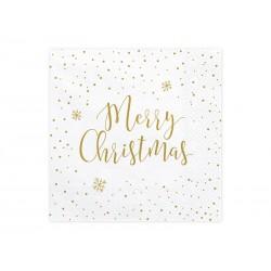 Serwetki papierowe Merry Christmas 33x33cm 20szt