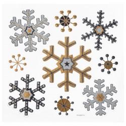 Naklejki świąteczne Śnieżynki