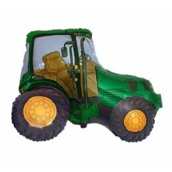 Balon foliowy traktor zielony 24cali 61cm