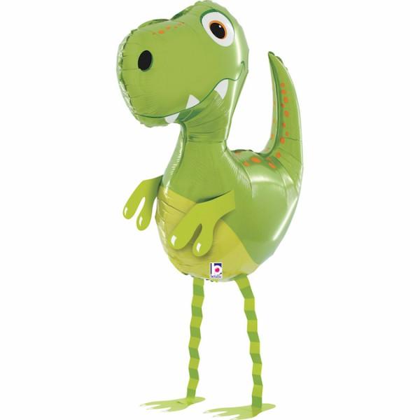 Chodzący balon foliowy Dinozaur