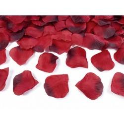Płatki róż ciemnoczerwone 100szt