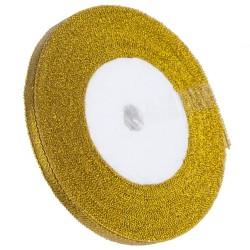 Tasiemka brokatowa złota 6mmx22m