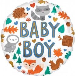 Balon foliowy Baby Boy Woodland 18cali 46cm
