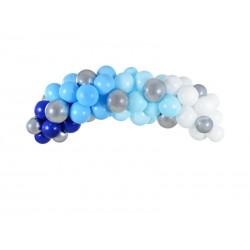 Girlanda balonowa niebieska 200cm