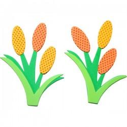 Naklejki piankowe Tulipany 5szt