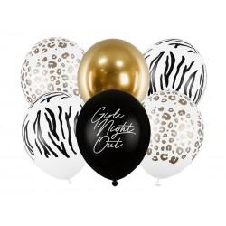 Bukiet balonów Girls Night Out 12cali 30cm 6szt