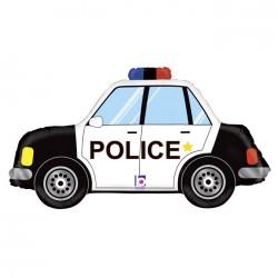 Balon foliowy Radiowóz Policyjny 34cali 86cm