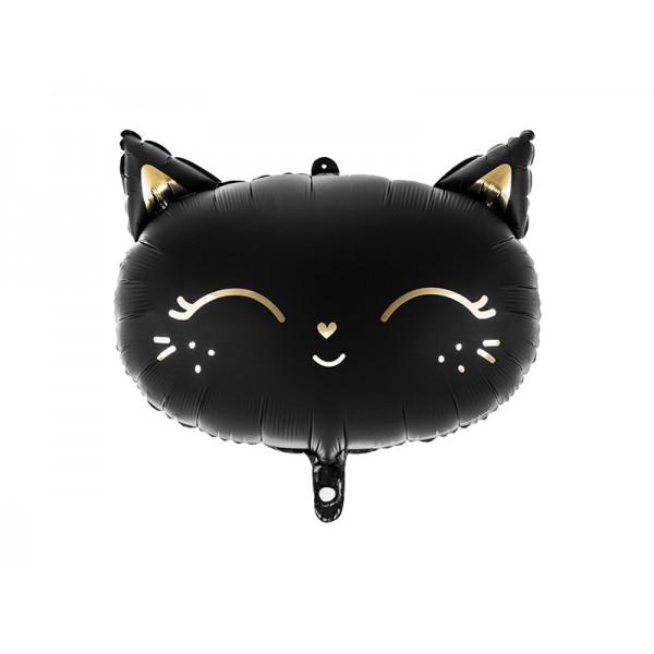 Balon foliowy Kotek czarny 48x36cm
