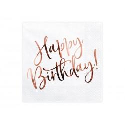 Serwetki papierowe Happy Birthday 33x33cm 20szt