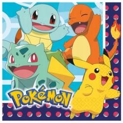 Serwetki papierowe Pokemon 33x33cm 16szt