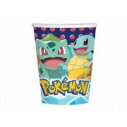 Kubeczki papierowe Pokemon 250ml 8szt