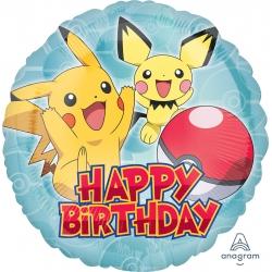 Balon foliowy Pokemon 17cali 43cm