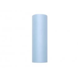 Tiul dekoracyjny jasnoniebieski w rolce 0,15cmx9m