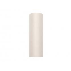 Tiul dekoracyjny kremowy w rolce 0,15cmx9m