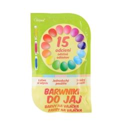 Barwniki do jaj 15 odcieni