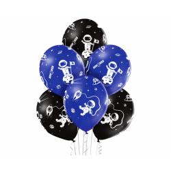Balony lateksowe Kosmos 12cali 30cm 6szt