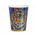 Kubeczki papierowe Harry Potter 270ml 8szt