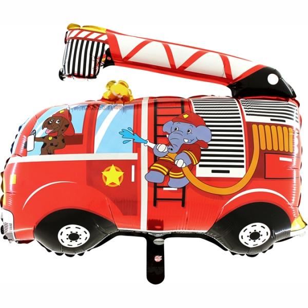 Balon foliowy Wóz strażacki 21cali