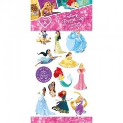 Tatuaże zmywalne Księżniczki Disney 12szt