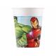Kubeczki papierowe  Mighty Avengers 200ml 8szt