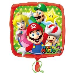 Balon foliowy Super Mario 18cali 43cm