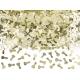 Konfetti Penisy metaliczne złote 30g