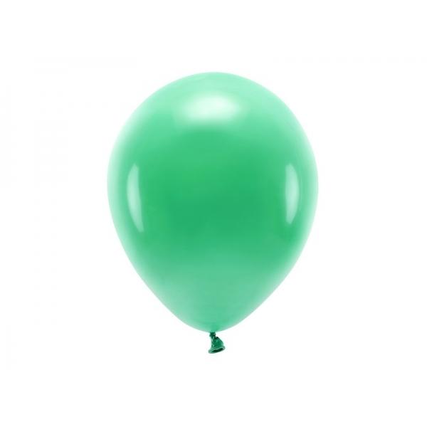 Balony Eco pastelowe zielone 11cali 27cm 10szt