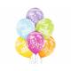 Balony Dinozaury Birthday Boy 12cali 30cm 6szt