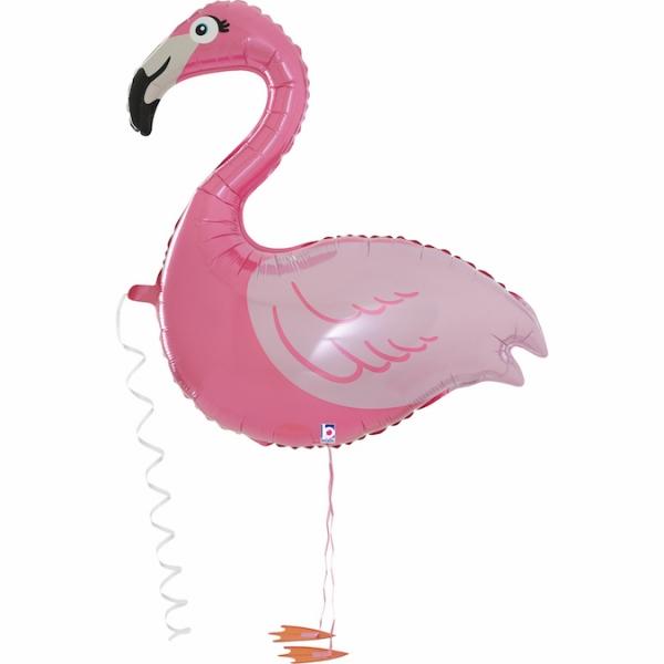 Chodzący balon foliowy Flaming 99cm
