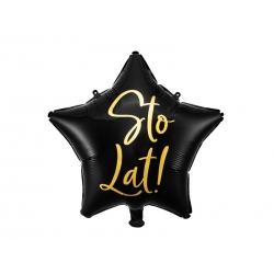 Balon foliowy Gwiazdka Stol Lat 15,5cali 40cm
