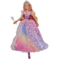 Balon foliowy Barbie 38cali 96cm