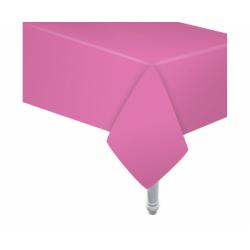 Obrus papierowy różowy 132x183cm