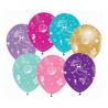 Balony lateksowe Podmorski Świat mix kolorów 12cali 30cm 5szt