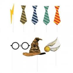Rekwizyty do zdjęć Harry Potter 8szt